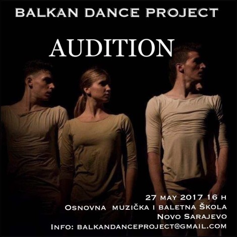 AUDICIJA ZA BALKAN DANCE PROJECT VOL. 3